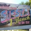 Siesta Key Beach Sign 1